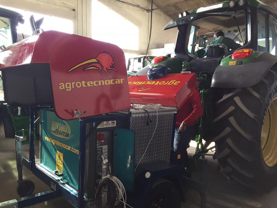 Distribuidor oficial Dynotractor banco potencia tractor. AgroTecnocar